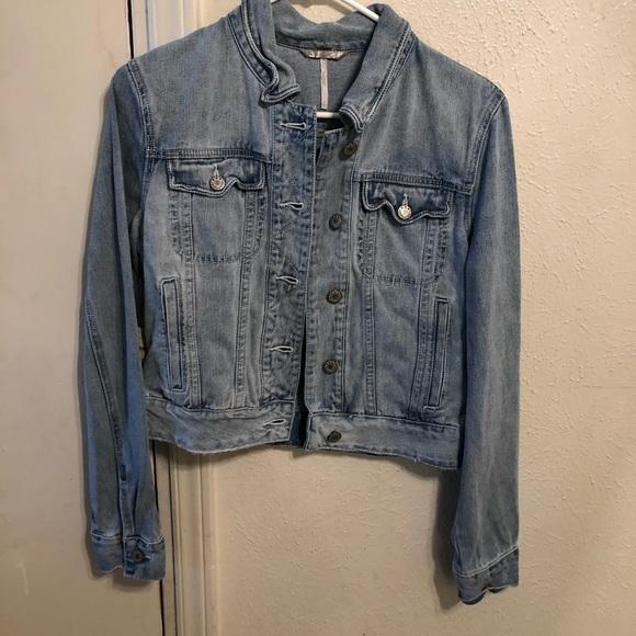 Light Blue Denim Jacket- Size Small